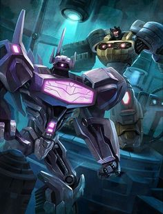 Decepticon Shockwave Artwork From Transformers Legends Game
