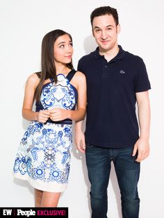 Rowan Blanchard and Ben Savage at Disney's D23 Expo