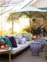 Create Shady Spots        Even sun worshippers welcome a little shade. Youll enjoy your deck or patio more if you can provide relief from the sun. Choices for providing shade include mature trees, umbrellas, retractable awnings, or even pergolas and arbors planted with vines.