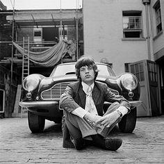 "Mick Jagger's Aston Martin - Stars and cars ""University Driving School"""