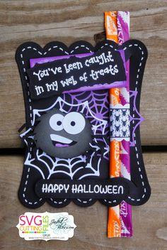 The Cricut Bug: Halloween Treats- Using Big Eyed Spider