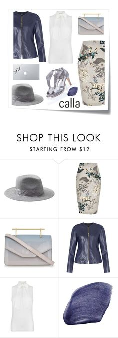 """""""Calla Shoes"""" by bysc ❤ liked on Polyvore featuring Post-It, Banana Republic, River Island, M2Malletier, MICHAEL Michael Kors, NARS Cosmetics and Vinyl Revolution"""