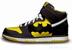 #Batman Nike Concept Shoe kick's ass!