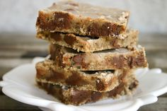 """chocolate chip coffee bars. quote: """"like eating some kind of chocolate chip cookie dough frappuccino fudge sheet cake""""    #ohyeah!"""