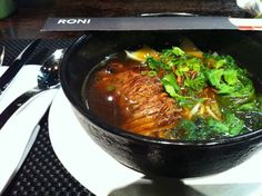 Roni in Moscow  Beef Soup