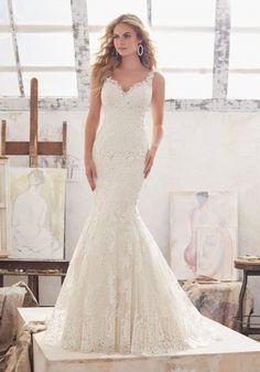 Mori Lee Wedding Dresses - Style 8115 Marcelline