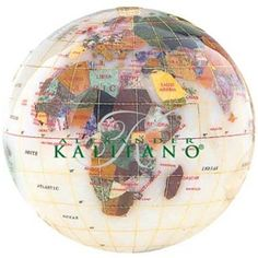 The Opal Gemstone Globe 4-inch Paperweight is a great choice for a decorative paperweight globe. Manufactured with some of the best quality semi-precious gemstones you will not be disappointed by the layout and presentation of this design. #desktopglobes#floorstandingglobes #rotatingglobes #papwerweightglobes #Kalifanobookendglobes #gemstoneglobes #worldglobes