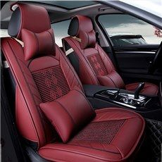 Super High Leather Material And Classic Universal Car Seat Cover