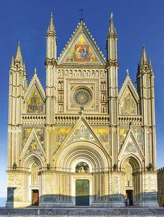The Cathedral of Orvieto (Duomo di Orvieto), Umbria, Italy /  Kalendář World Monuments 2017