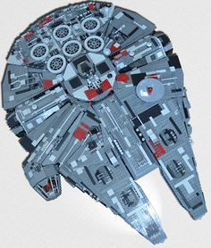 Lego 10179 - Millennium Falcon - Bricklinked in Bley - 99% new parts - Total cost in Europe: ~900 Eur