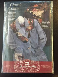 Gooseberry Hill Classic Vintage Quilt Collars Pattern Unused Uncut 1994 202 | eBay