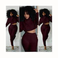 8d906a40c4c36 Women Two Pieces Set Knitted Set Casual Tops Pant Suits co-ord setuotelab