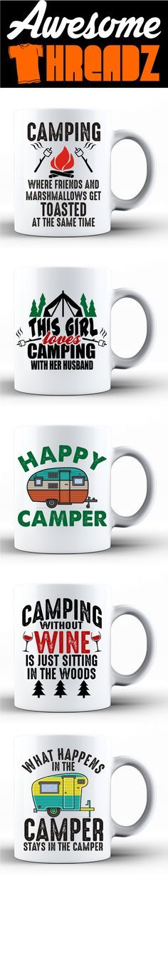 Check Out Our New Camping Coffee Mugs. We Have Dozens To Choose From.