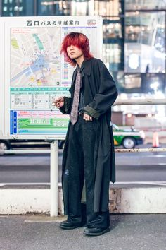 The Best Street Style From Tokyo Fashion Week Spring 2020 Japanese Streets, Japanese Street Fashion, Tokyo Fashion, Harajuku Fashion, Cool Street Fashion, Punk Fashion, Fashion Outfits, Classy Fashion, Japanese Fashion Styles