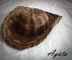 Moje pletení z papíru - Fotoalbum - NÁVOD - NA NETRADIČNÍ PLETENÍ - NÁVOD - NA KLOBOUK Avec tuto