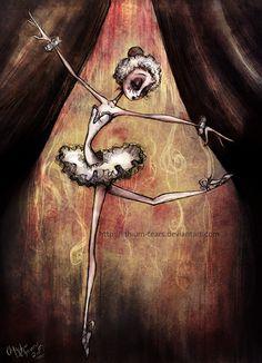 Ballerina inspired by tim burton Arte Tim Burton, Tim Burton Art Style, Estilo Tim Burton, Tim Burton Drawings Style, Tim Burton Sketches, Tim Burton Artwork, Creepy Drawings, Creepy Art, Art Drawings