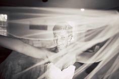 #TheBride with her #weddingveil! ::Sara + Pete's sunshine wedding amongst the trees of Chenoweth Woods in Sebastopol, California:: #weddingphotography #bw #veil #artistic #bridalportrait #havingfun
