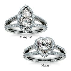 Heart or Marquise cut?