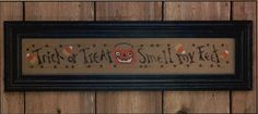 bent creek cross stitch | Trick or Treat Row cross stitch pattern by Bent by TheCrossIBare