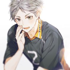 Sugawara Koushi (Karasuno) He's legitimately the definition of the word beautiful.| Haikyuu!! #hq