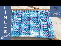 Blog para aprender a tejer con dos agujas, palitos o palillos, paso a paso: patrones modernos, tutoriales en vídeo, puntos, trucos, cursos, técnicas. Knitting Videos, Loom Knitting, Knitting Stitches, Start Knitting, Baby Knitting Patterns, Stitch Patterns, Knit Stitches For Beginners, Learn How To Knit, Vertical Stripes