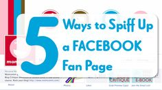 5 Ways to Spiff Up Your Facebook Fan Page