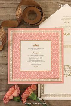 Simple Wedding Cards, Hindu Wedding Cards, Indian Wedding Invitation Cards, Creative Wedding Invitations, Wedding Invitation Card Template, Wedding Templates, Wedding Stationery, Invites, Desi Wedding Decor