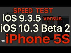 iOS 10.3 beta 2 vs iOS 9.3.5 - comparatia performantelor | iDevice.ro