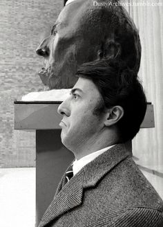 Dustin at the Museum of Modern Art in NYC in 1968.