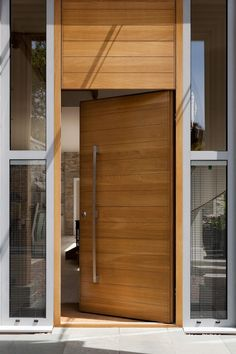 Oversized doors can create amazing impact. Learn more about some of the large doors Urban Front have created and what they can do for your property. Door Design Interior, Main Door Design, Entrance Design, Front Door Design, Modern Entrance Door, Modern Entry, House Entrance, Wood Front Doors, The Doors