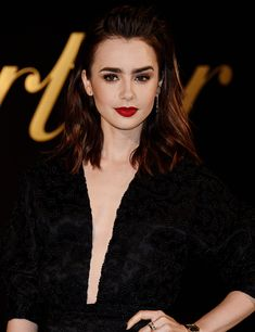 Lily Collins attended the Panthere De Cartier Party at Milk Studios in Los Angeles on May 05, 2017.