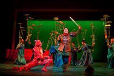 Scene Before Keep Em' Guessin Disney's Mulan, Jr., at Children's Theatre Company