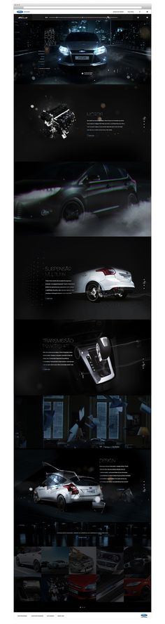 Cool Automotive Web Design. Ford. #automotive #webdesign [http://www.pinterest.com/alfredchong/]
