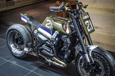 BMW R 1200 R ABS Street Tracker - Eddie Lawson tribute by VTR Customs #motorcycles #streettracker #motos   caferacerpasion.com