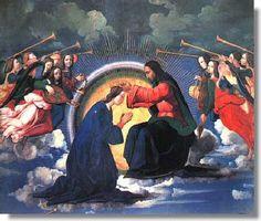 Le couronnement de la très sainte Vierge Marie