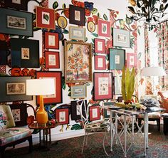Pinterest Country Decor   Details in the Decor: Inspirational Decorative Wall Displays