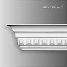 Small dentil crown molding is our Goodware's polyurethane special product .Our crown mouldings encompass a great selection of period correct designs Cornice Moulding, Dentil Moulding, Chair Rail Molding, Moldings And Trim, Crown Molding, Base Moulding, Cornice Design, Window Design, Door Design