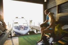 Here are some tips that will help ensure the boat is properly stored and getting it ready for use next year will be a breeze. Drip Edge, Patio Enclosures, Self Storage, Exterior Doors, Outdoor Projects, Boat, Windows, Garden Sheds, Summer