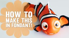 Learn how to make Nemo from Finding Nemo in my YouTube video tutorial - Subscribe to my channel for more awesome video's!