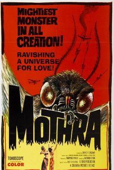 Mothra! ... we still call annoying moths Mothra