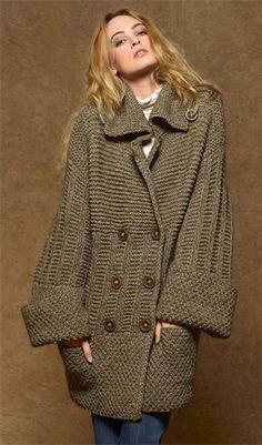 Bergere de France Long Jacket Pattern 287.791