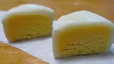 my favorite kind of mooncake = Durian snowskin mooncake