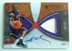 06-07 Exquisite Noble Nameplates NN-KB Kobe Bryant Prime Patch Auto Card 15/25