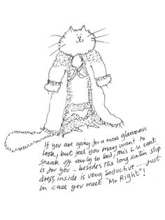 Stray Cat Strut: Grace Coddington Illustrates Her Ideal Punk Met Gala Looks . . . on Cats - Vogue Daily - Fashion and Beauty News and Features