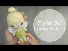Here you will find interesting ideas and lots of free amigurumi patterns and step-by-step crochet toy tutorials. videos Crochet Tinker Bell Free Amigurumi Pattern Y Amigurumi Tutorial, Crochet Amigurumi Free Patterns, Easy Crochet Patterns, Crochet Dolls, Knitting Patterns Free, Free Crochet, Knit Crochet, Tinker Bell, Crochet Hedgehog