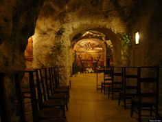 St Stephen's Cave Church, Budapest, Hungary