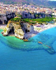 Calabria, Italia Plage paradisiaque