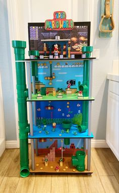 Super Mario Room, Super Mario Birthday, Mario Birthday Party, Mario Party, Projects For Kids, Crafts For Kids, Diy Projects, Mario Brothers, Mario Bros
