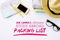 The ultimate study abroad packing list italy туризм Study Abroad London, Study Abroad Packing, College Packing, Travel Abroad, Travel Packing, Travel Tips, Packing Lists, Travel Deals, Travel Hacks