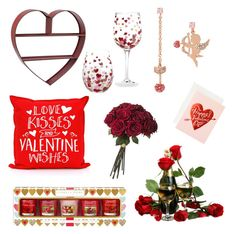 Designer Clothes, Shoes & Bags for Women Valentine Stuff, Valentine Wishes, Interior Decorating, Interior Design, Betsey Johnson, Candles, Interiors, Holiday Decor, Polyvore